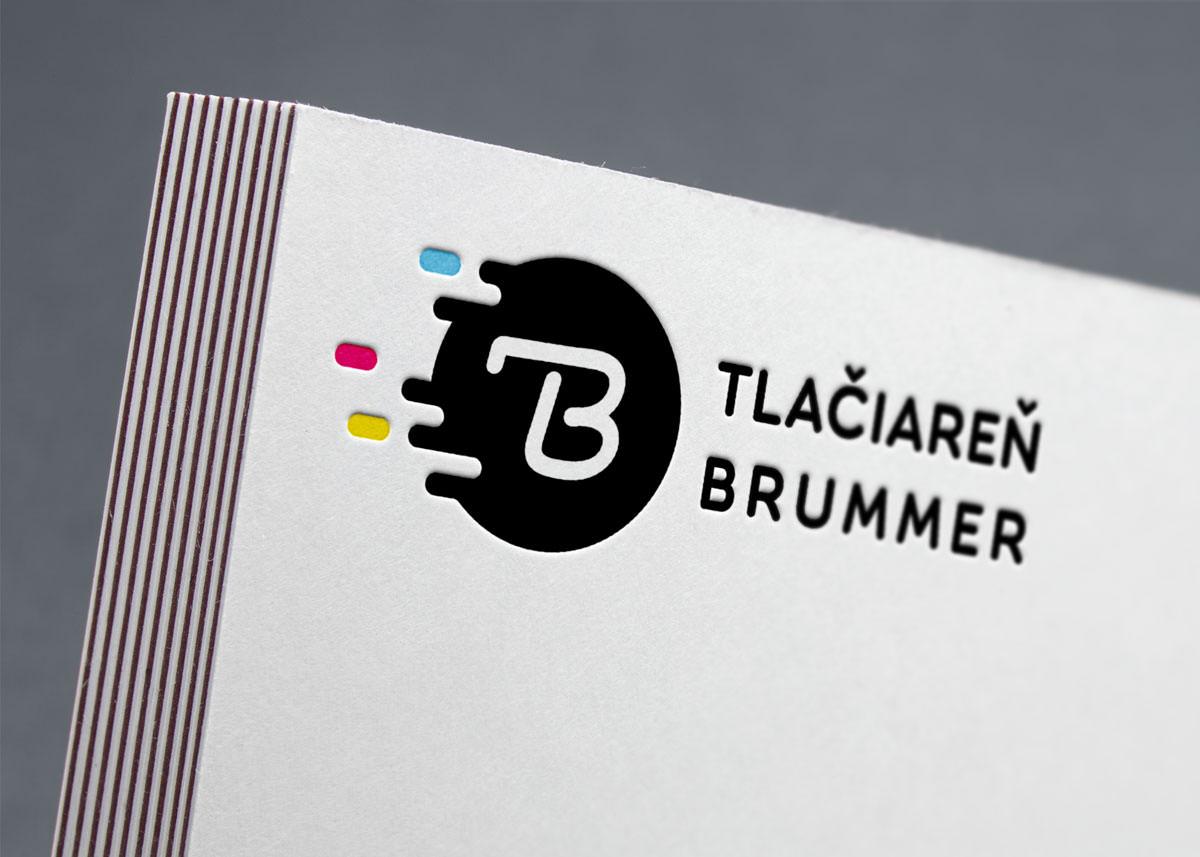 logotyp Tlačiareň Brummer