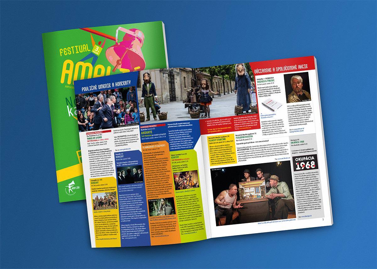 festivalové noviny Amplión